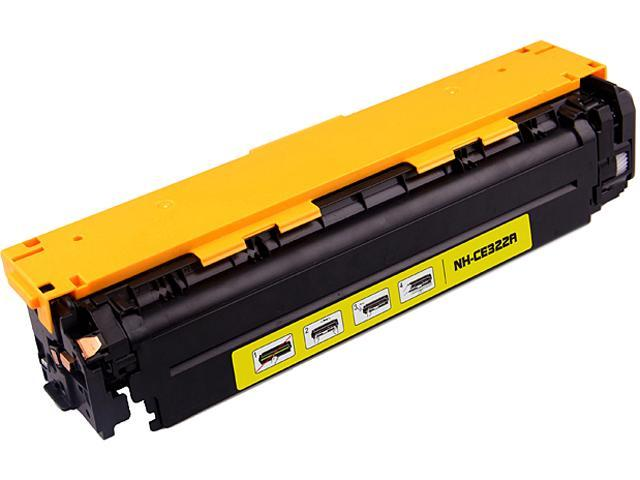 G&G NH-CE322Y Yellow Laser Toner Cartridge Replaces HP (Hewlett Packard) CE322A (128A)