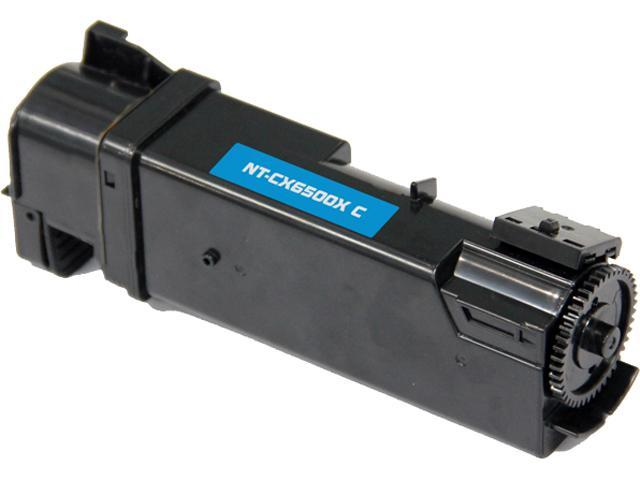 G & G NT-CX6500XC High Yield Cyan Laser Toner Cartridge Replaces Xerox 106R01594 for use in the Xerox Phaser 6500, WorkCentre 6505
