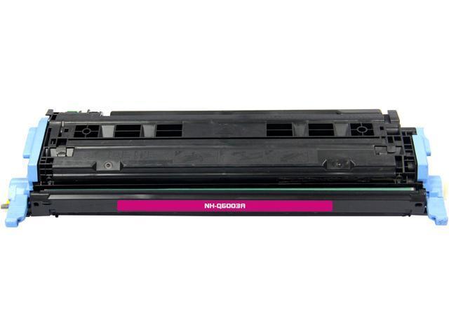 G&G NT-C6003F Magenta Laser Toner Cartridge Replaces HP (Hewlett Packard) Q6003A (124A)