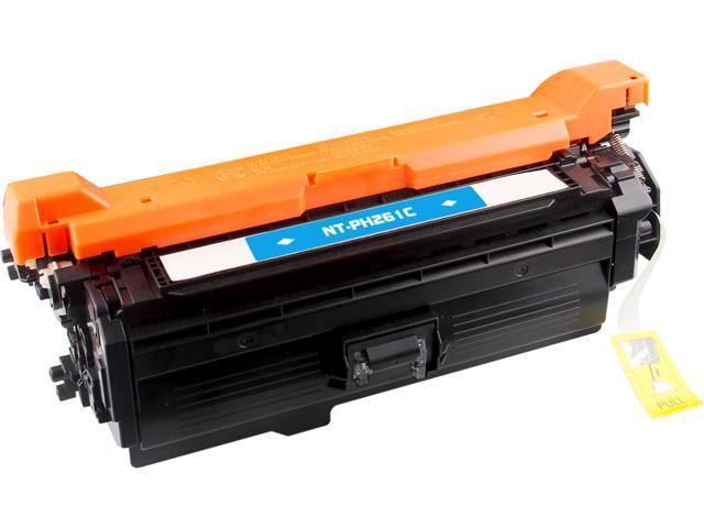 G&G NT-CH261C Cyan Laser Toner Cartridge Replaces HP (Hewlett Packard) CE261A (HP 648A)