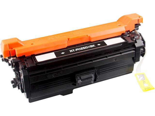 G&G NT-CH260XBK Black Black Laser Toner Cartridge Replaces HP (Hewlett Packard) CE260X (HP 649X)