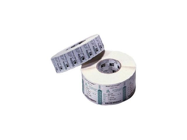 "Zebra 83259 Thermal Transfer Zebra Z-Select 4000T 1 in core - 2"" Width x 1"" Length - 8 / Roll - Rectangle - 2260/Roll - 1"" ..."