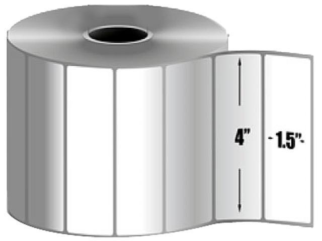 Zebra 10010046 Label Paper Thermal Zebra Z-Select 4000D, Perforated - 4
