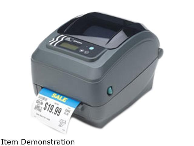 Zebra GX43-102710-000 GX430t Desktop Thermal Printer