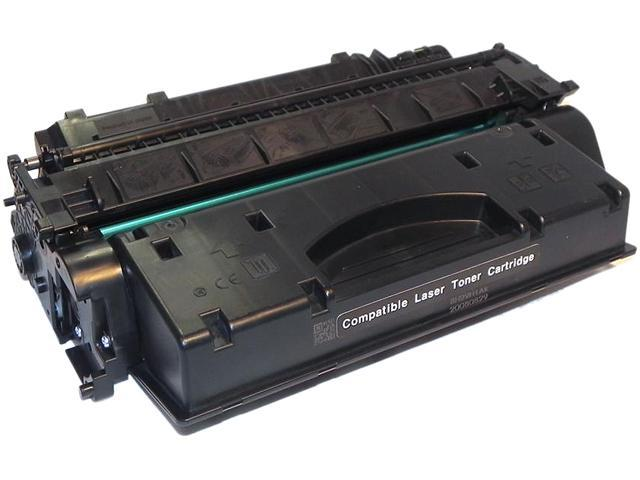 eReplacements CE505X-ER Black Compatible Toner Cartridge