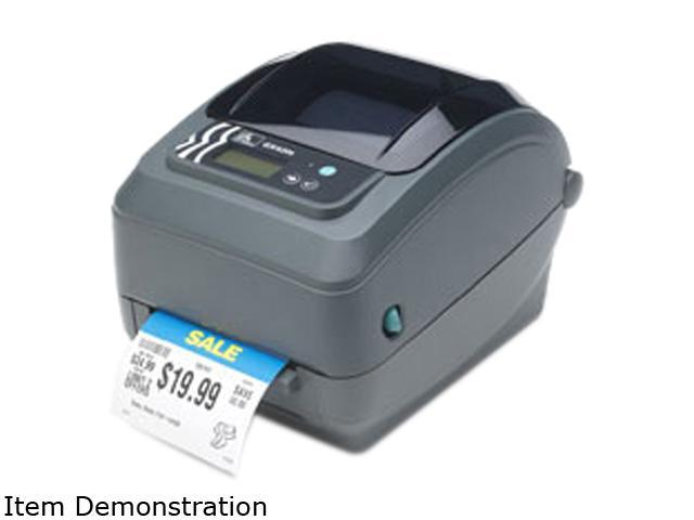 "Zebra GX430t GX43-102810-000 Direct Thermal/Thermal Transfer Printer 4""/102 mm per second 300 dpi/12 dots per mm Barcode/Label ..."