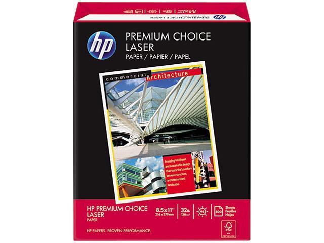 Hewlett-Packard 11310-0 Premium Choice LaserJet Paper, 98 Brightness, 32lb, 8-1/2x11, White, 500 Shts/Rm