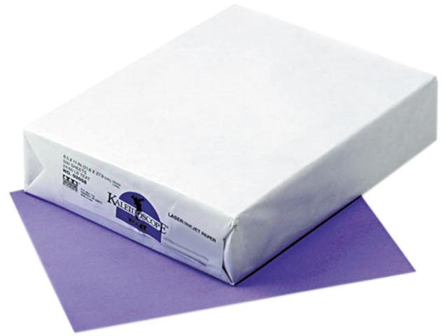 Pacon 102058 Kaleidoscope Multipurpose Colored Paper, 24lb, 8-1/2 x 11, Violet, 500 Shts/Rm
