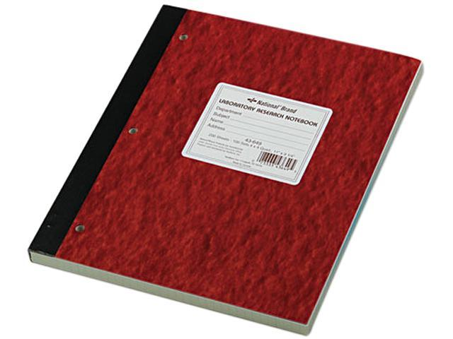 National Brand 43649 Duplicate Lab Notebook, Quadrille Rule, 9-1/4 x 11, WE/Canary, 200 Sheets