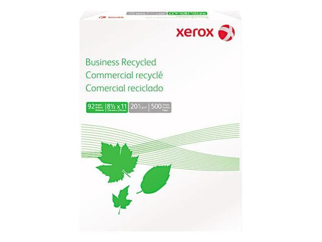 Xerox Multipurpose Paper, 92 Brightness, 20lb, 8-1/2 x 11, White, 500 Sheets/Ream