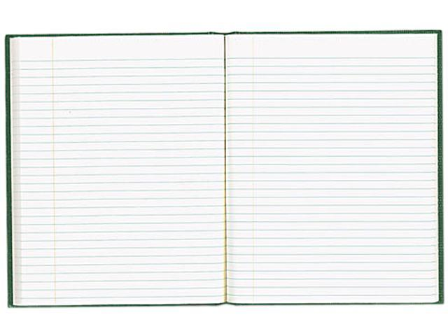 Blueline Blueline EcoLogix Notebook, 7.25 x 9.25, 150 Pages, College Ruled, Hard Cover, Green