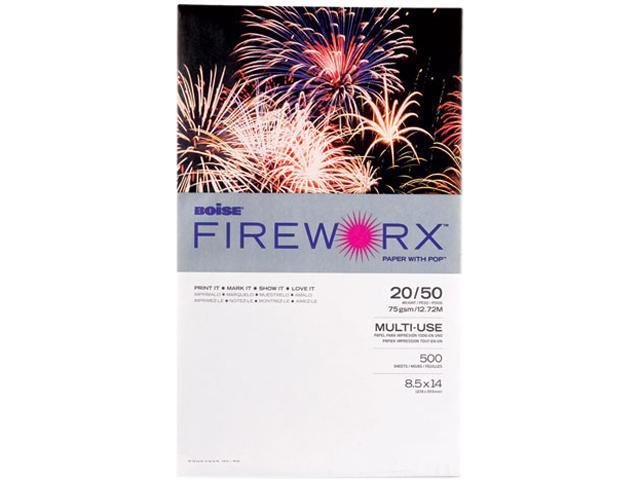 Boise  MP2204GRP Fireworx Colored Paper, 20lb, 8-1/2 x 14, Goldenrod, 500 Sheets/Ream