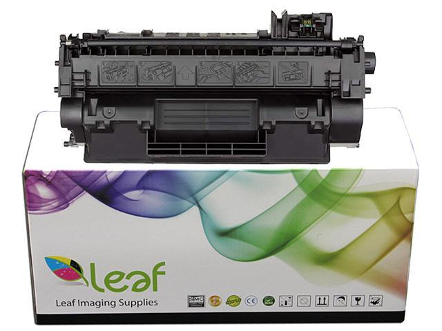 Leaf Imaging Supplies LER CE390A Black Toner Replacement