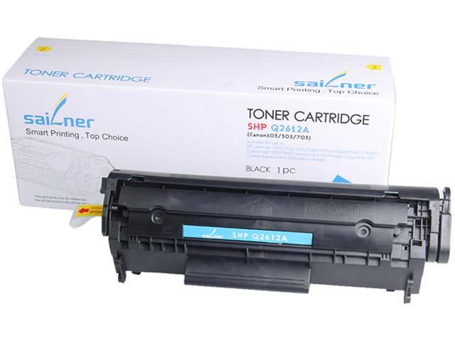 Sailner Compatible SHP-Q2612A Toner Cartridge, Alternative for HP Q2612A