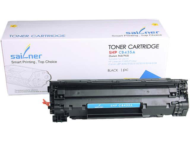 Sailner Compatible SHP-CB435A  Toner Cartridge, alternative for HP OEM# CB435A