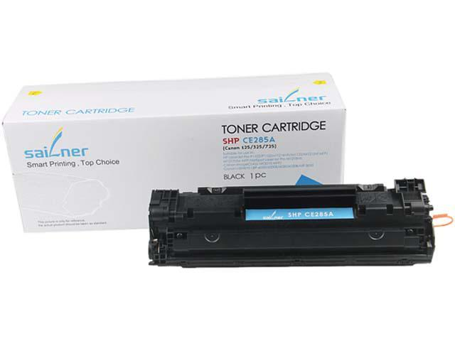 Sailner Compatible SHP-CE285A Toner Cartridge, alternative for HP OEM# CE285A