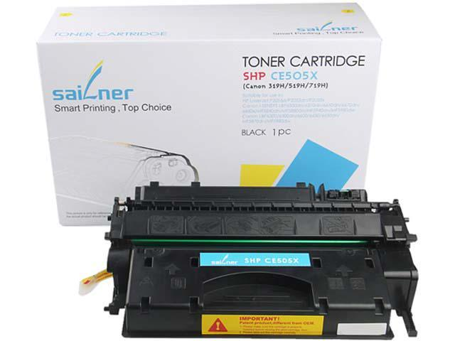 Sailner Compatible SHP-CE505X Toner Cartridge, alternative for HP OEM# CE505X