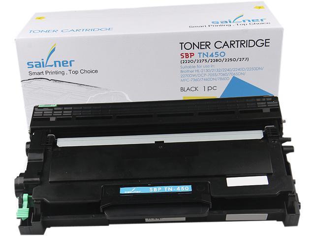 Sailner Compatible SBP-TN-450 Toner Cartridge, alternative for Brother OEM# TN-450