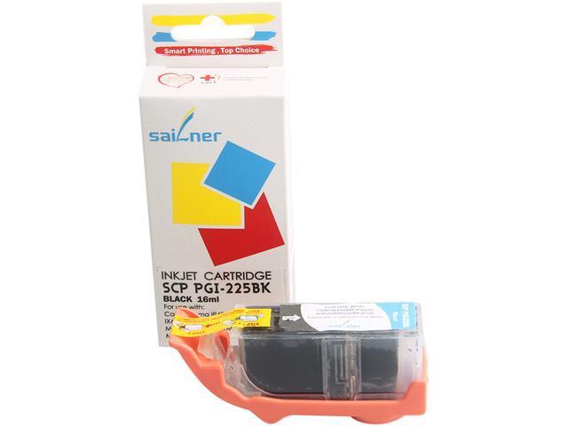 Sailner Compatible SCP-PGI-225BK inkjet Cartridge, alternative for Canon OEM# PGI-225BK