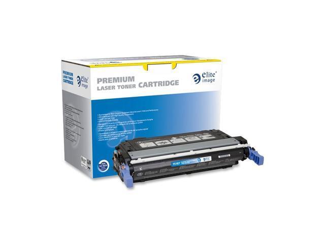 Elite Image 75187 Black Remanufactured HP 643A Color Laser Cartridge