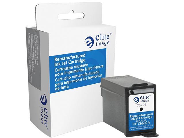 Elite Image ELI75799 Compatible ink-jet replaces HP (C6602A) Black