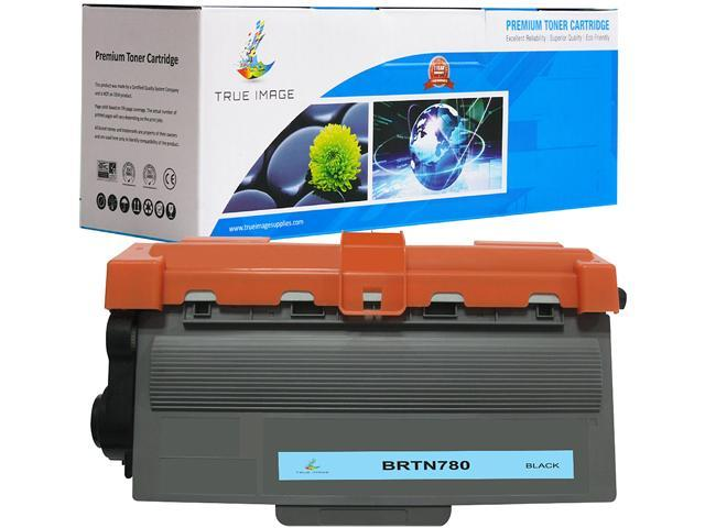 TRUE IMAGE BRTN780 High Yield Black Toner Replaces Brother TN-780 TN780, Single Pack, Page Yield 2,000