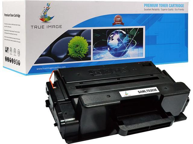 TRUE IMAGE SAMLTD203E Extended Yield Black Toner Replaces Samsung 203E MLT-D203E, Single Pack, Page Yield 5,000