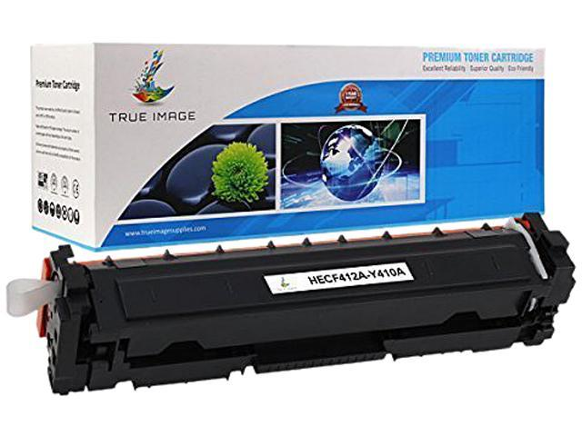 TRUE IMAGE HECF412A-Y410A Black Toner Cartridge Replaces HP CF412A