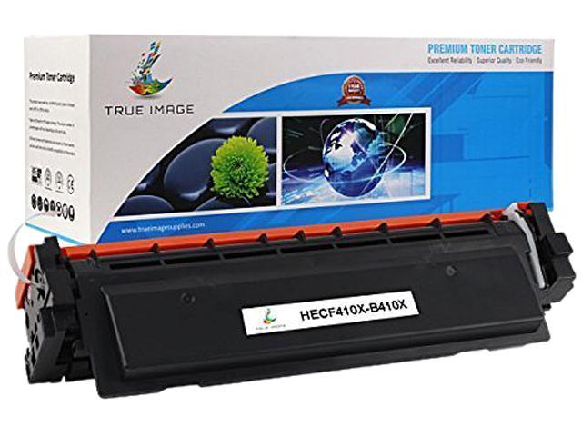 TRUE IMAGE HECF410X-B410X Black Toner Cartridge Replaces HP CF410X