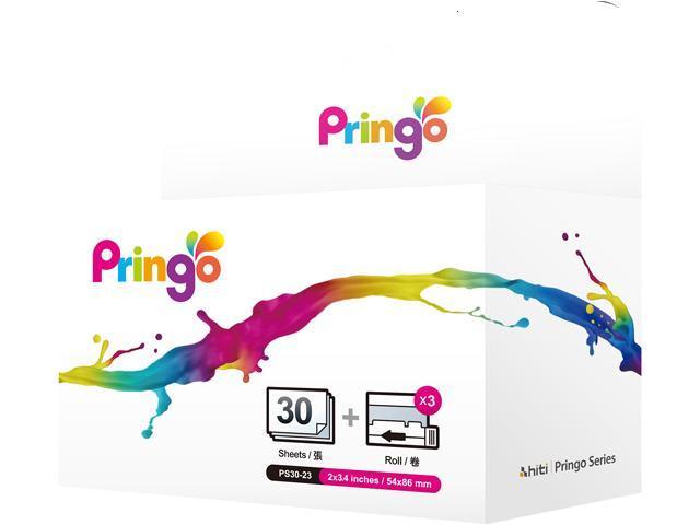 HiTi Pringo 87.PG901.02XV P231 YMCSO 30 Prints Pack