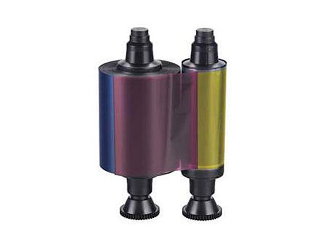 Evolis Model # R3011 Color Ribbon; Yellow, Magenta, Cyan, Black and Overlay