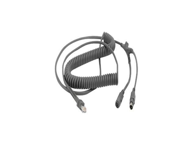 Universal Keyboard Wedge Cable (Coiled)