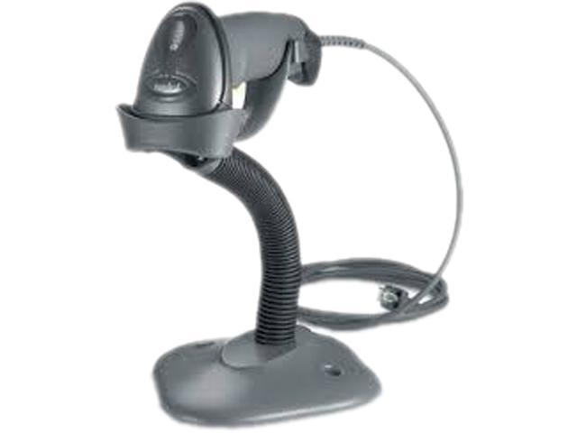 Black Gooseneck Stand for Symbol LS1203
