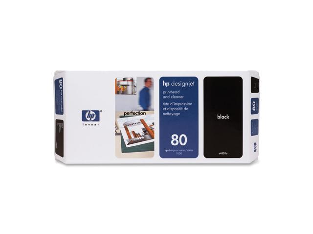 HP 80 Black Printhead and Cleaner for Designjet 1000(C4820A)