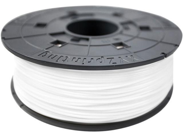 XYZprinting da Vinci ABS Filament (for 1.0, 1.1+, AiO, 2.0, Pro), SNOW WHITE Color
