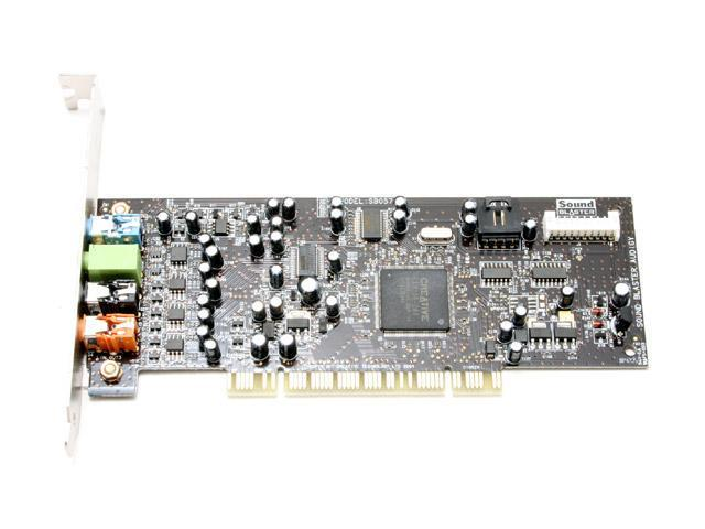 Creative Sound Blaster Audigy SE 7.1 Channels 24-bit 96KHz PCI Interface Sound Card - OEM