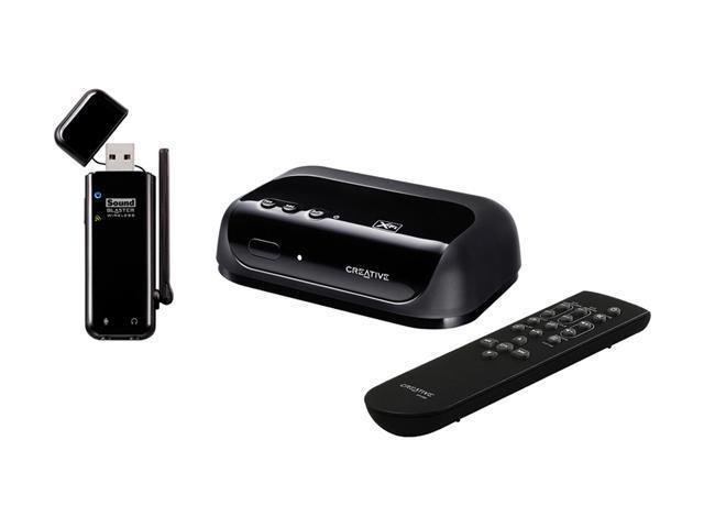 Creative Sound Blaster Wireless USB Interface System for iTunes + Receiver