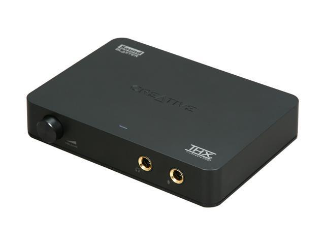 Creative Sound Blaster X-Fi HD USB Interface Sound Card