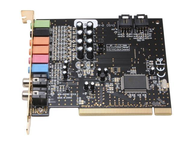 DIAMOND XtremeSound XS71 7.1 Channels 16-bit 96KHz PCI Interface Sound Card