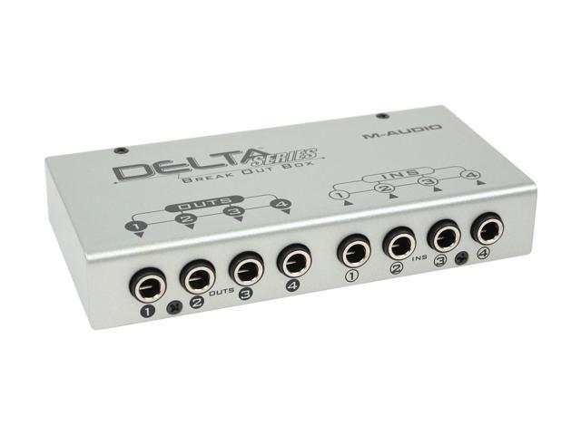 M-AUDIO Delta 44 Professional 24-bit 96KHz PCI Interface 4-In/4-Out Audio Card