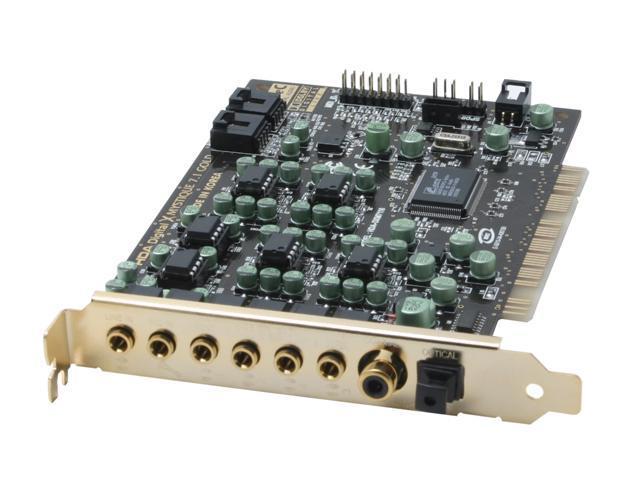 AUZEN XMYSTIQUE7.1 7.1 Channels 24-bit 96KHz PCI Interface Sound Card