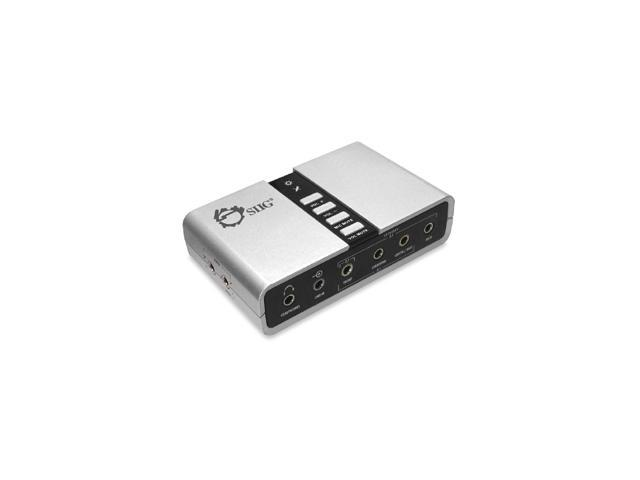 SIIG IC-710112-S1 USB SoundWave 7.1 Digital