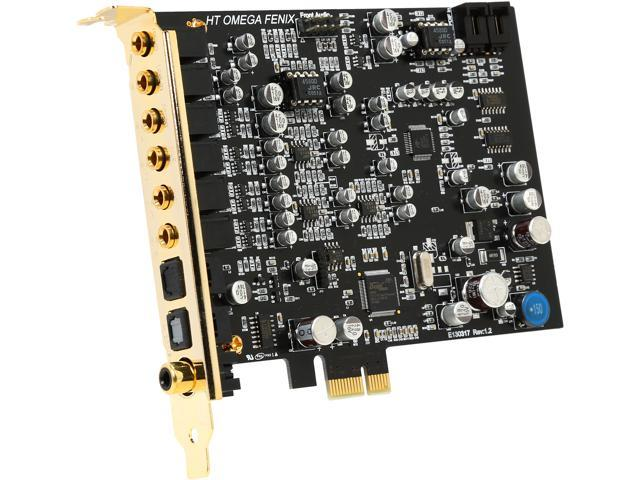 HT | OMEGA FENIX 7.1 Channels 24-bit 192KHz PCI Express x1 Interface Sound Card