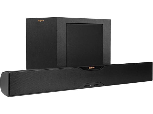 "Klipsch Reference R-4B 2-Way Soundbar with Wireless 6.5"" Subwoofer"