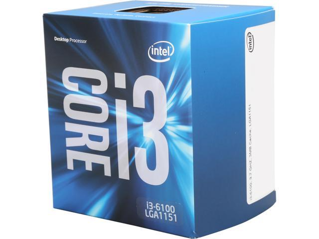 Intel Core I3 6100 3mb 3 7 Ghz Lga 1151 Bx80662i36100 Desktop