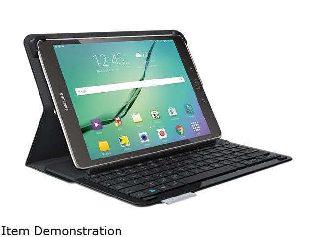 Logitech Black Keyboard Case for Samsung Galaxy Tab S2 9.7 Model Type - S (920-007985)