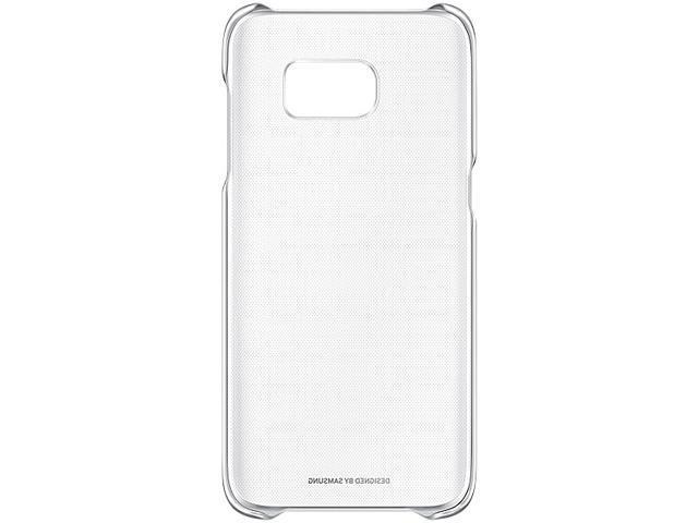 SAMSUNG Silver Galaxy S7 edge Clear Cover EF-QG935CSEGCA