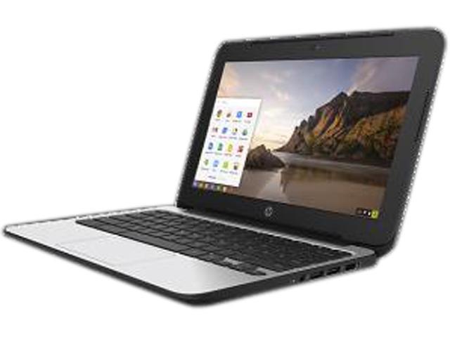 HP 11 G4 (P0B77UT#ABA) Chromebook Intel Celeron N2840 (2.16 GHz) 4 GB Memory 32 GB eMMC SSD 11.6