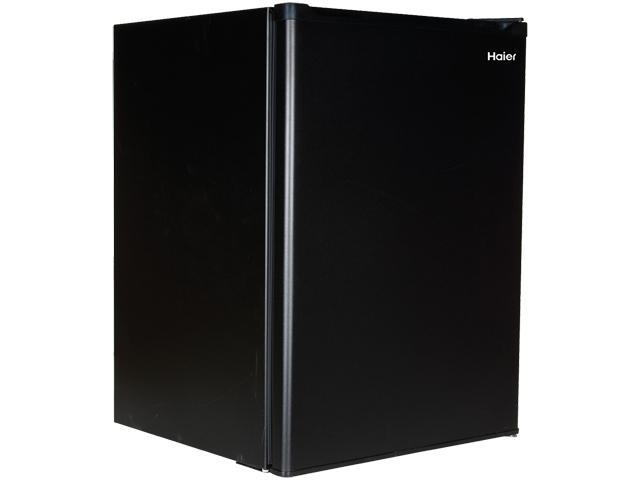 Haier HC27SF22RB 2.7 Cu. Ft. Mini Refrigerator with Half-width Freezer Compartment, Black
