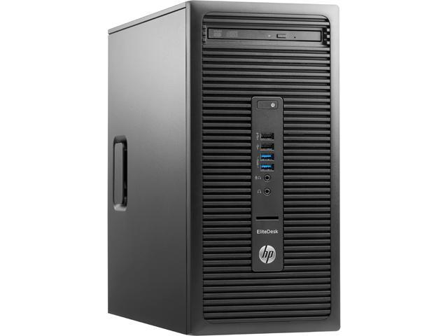 HP Desktop PC EliteDesk 705 G2 (P0D58UT#ABC) A10-Series APU A10 PRO-8750B (3.60 GHz) 8 GB DDR3 1 TB HDD AMD Radeon R7 Windows 7 Professional 64-Bit (available through downgrade rights from Windows 10